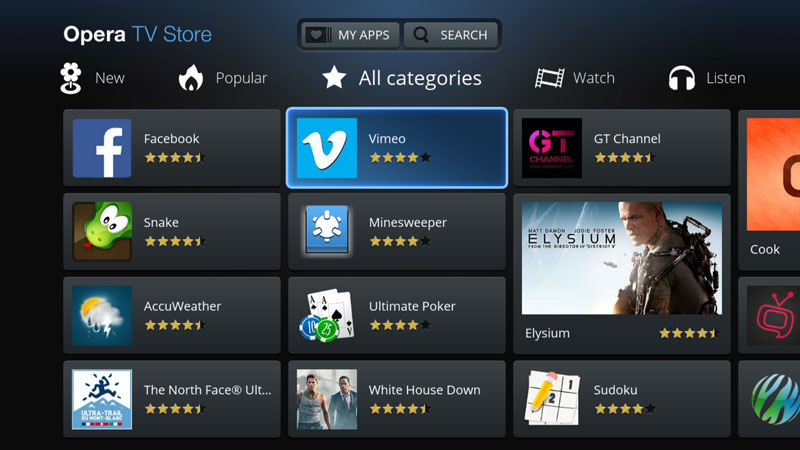 What is opera tv store | Vewd App Store: The Leading TV App Store